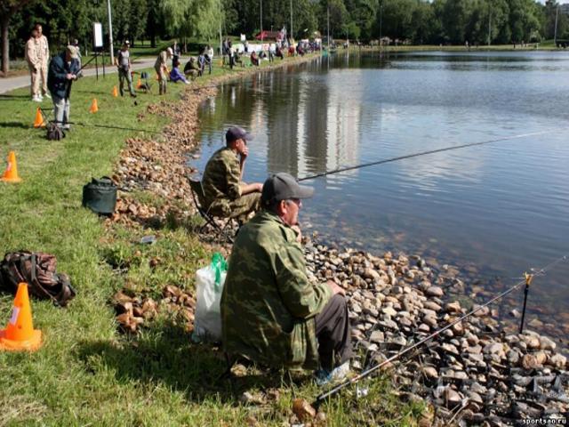 рыбалка в городе дмитров