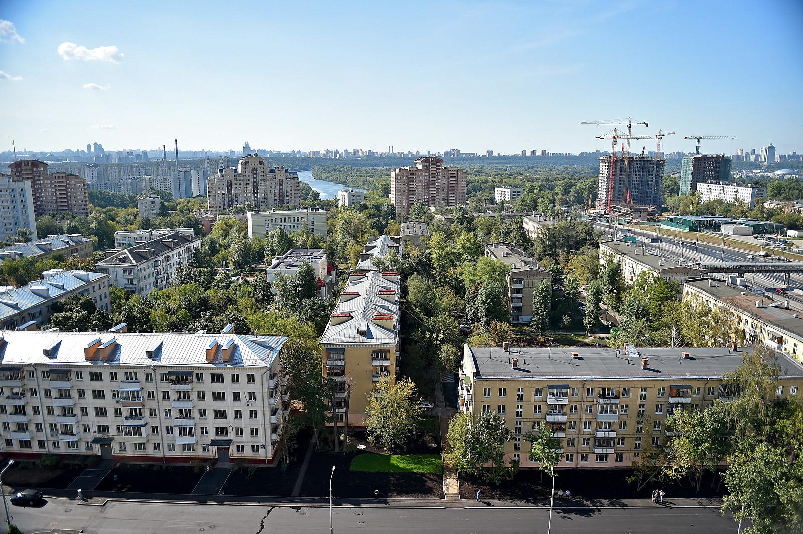 Наюго-западе столицы подобраны 38 стартовых площадок для программы реновации